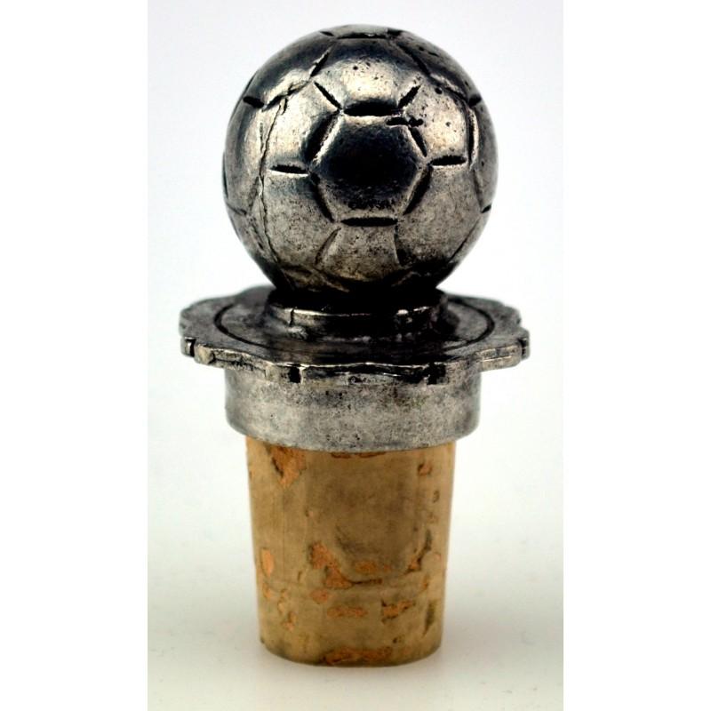 Bouchon ballon de foot en étain