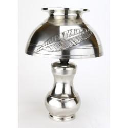 Lampe de bureau en étain