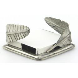 Porte papier plume en étain