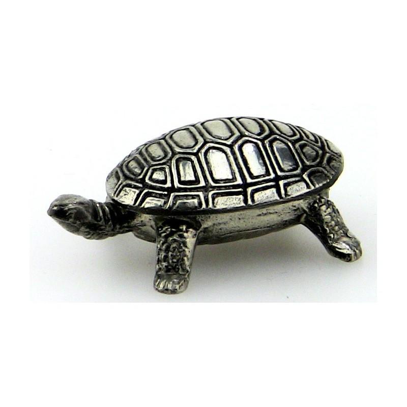 Boite tortue en étain