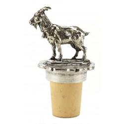 Bouchon chèvre en étain
