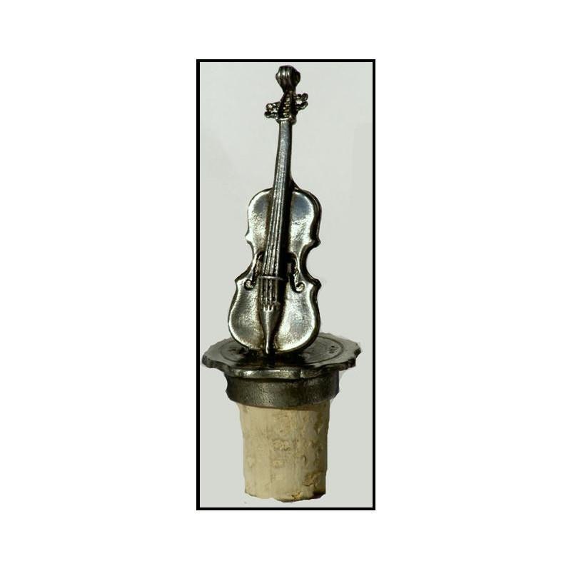 Bouchon violon en étain