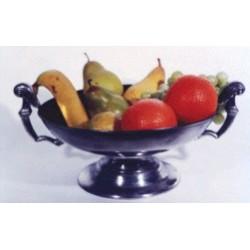 Coupe à fruits en étain