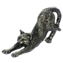 Chat en étain