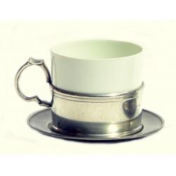 Tasse à thé avec étain