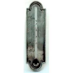 Thermomètre raisin en étain sans applique