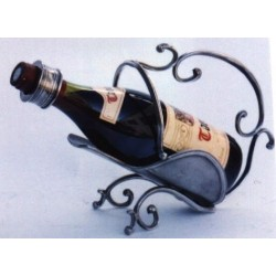 Porte bouteille fantaisie en étain